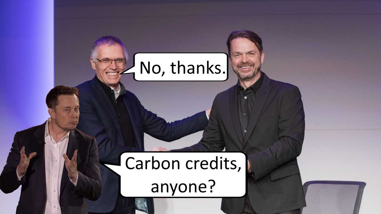 Stellantis Announces It Will Not Need Tesla's CO2 Credits Anymore
