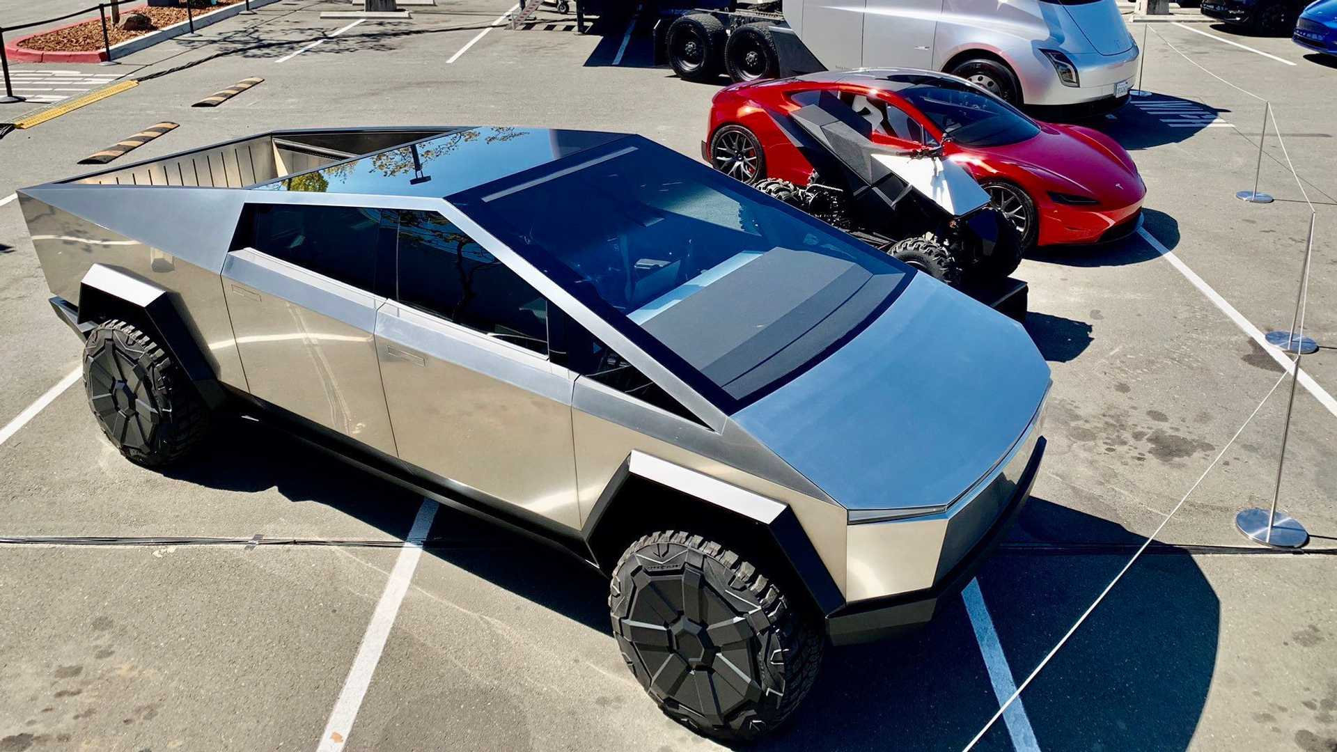 Tesla Only Recently Finalized The Cybertruck's Design, Dimensions
