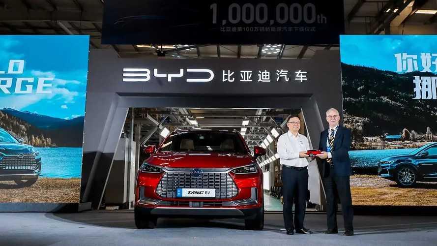 BYD - 1 milhão de carros elétricos