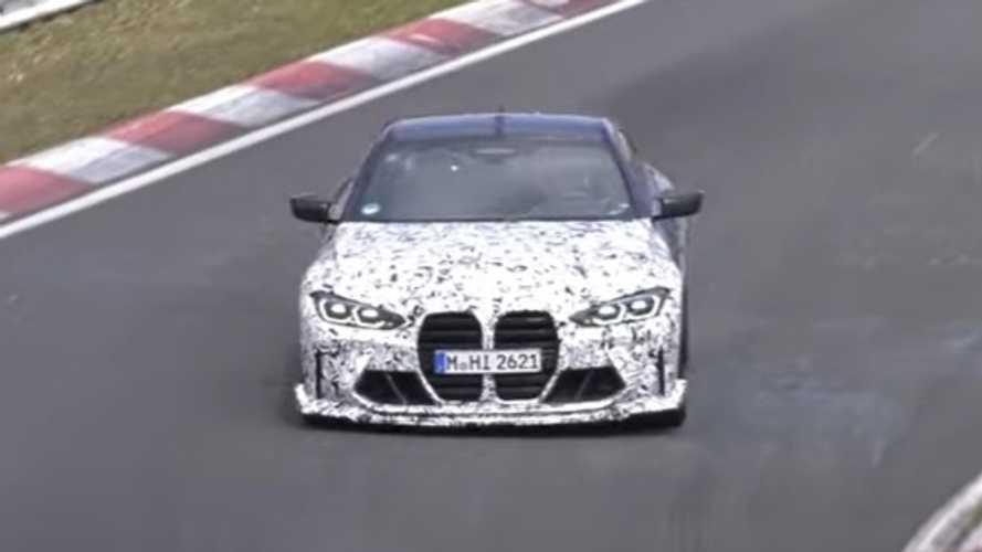 Ya puedes ver el nuevo BMW M4 CSL rodando en Nürburgring
