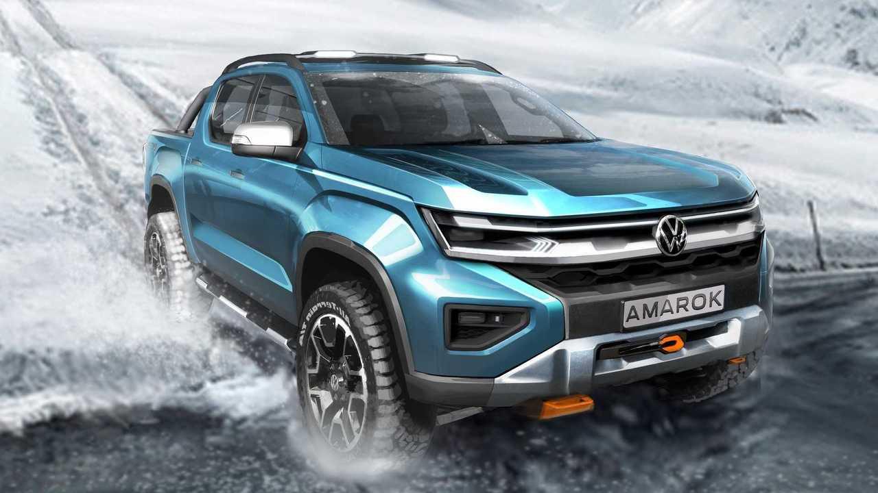 Volkswagen Amarok II Gen Teaser 2