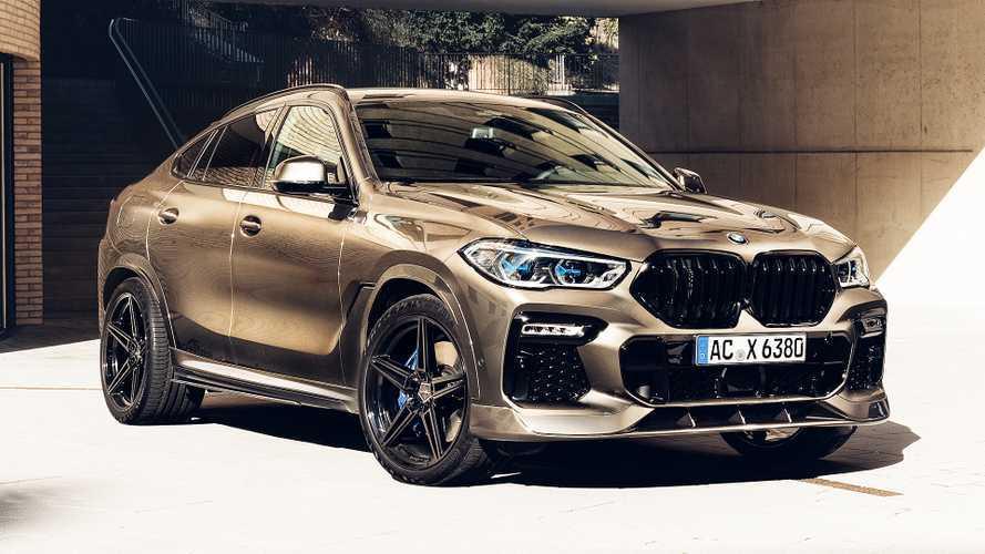 BMW X6, ecco l'affilatissimo kit estetico di AC Schnitzer