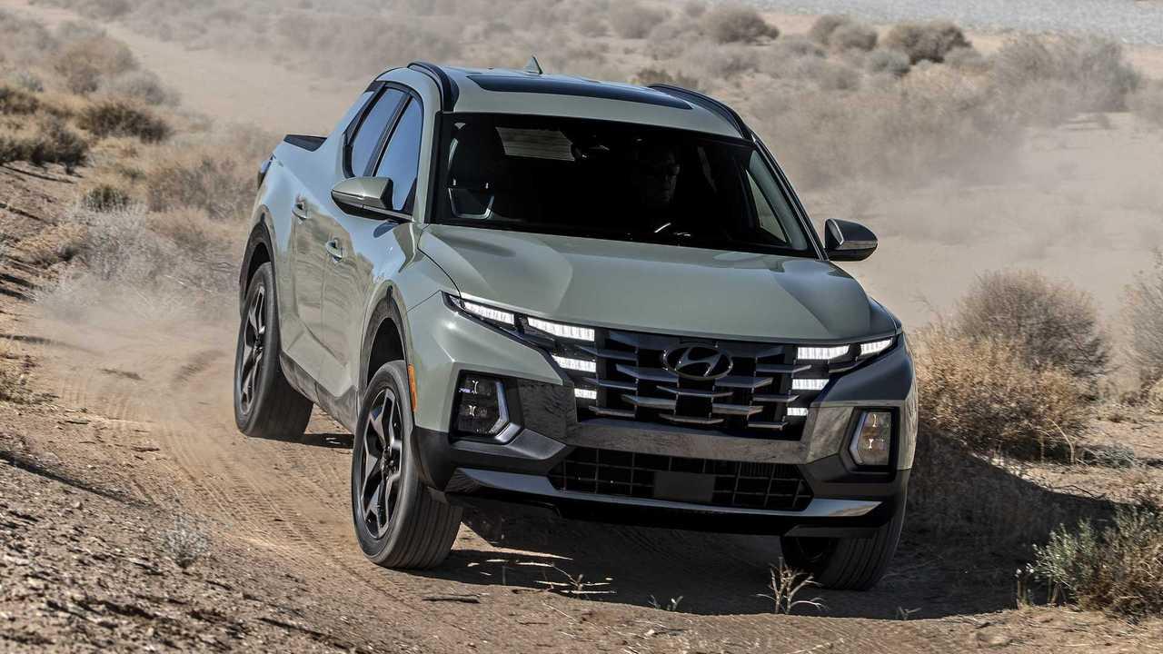 Pick-up mit Tucson-Optik: Der Hyundai Santa Cruz (2022)