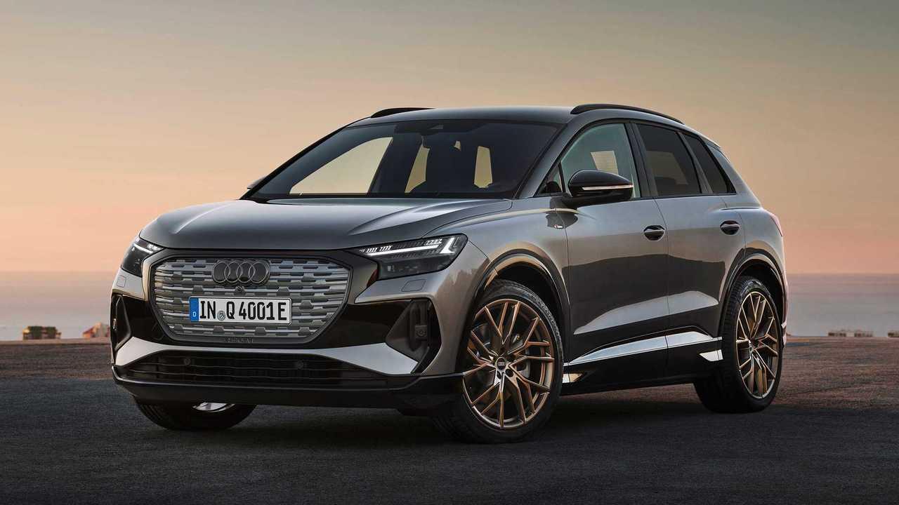 Audi Q4 E-Tron ve Q4 E-Tron Sportback tanıtıldı!