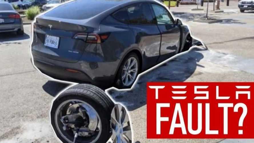 Vidéo - Il crashe son Model Y et accuse Tesla
