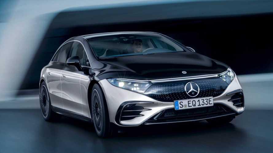 La Mercedes EQS démarre à partir de 127 250 € en France