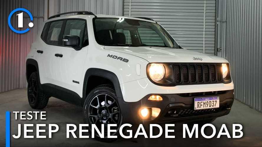 Teste: Jeep Renegade Moab é o 4x4 a diesel mais barato, mas vale a pena?
