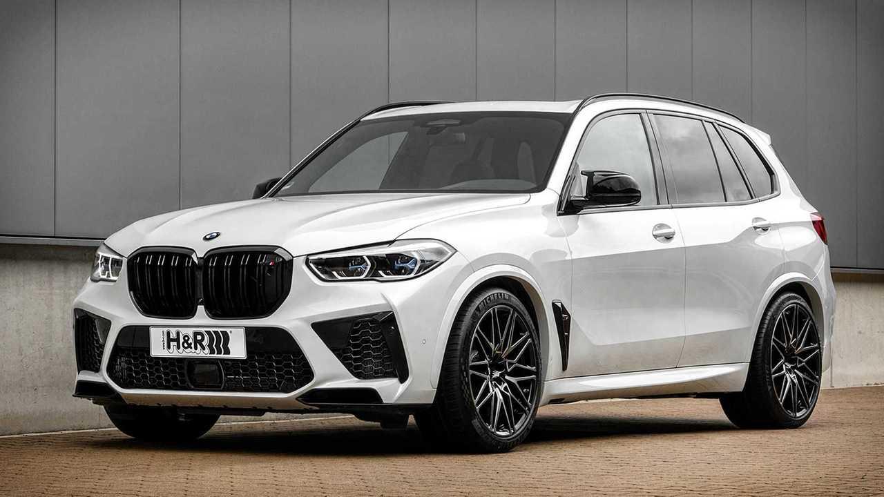 Neue H&R Gewindefedern für den BMW X5 M
