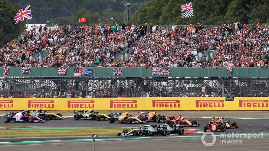 British F1 GP boss 'cautiously optimistic' over fans return