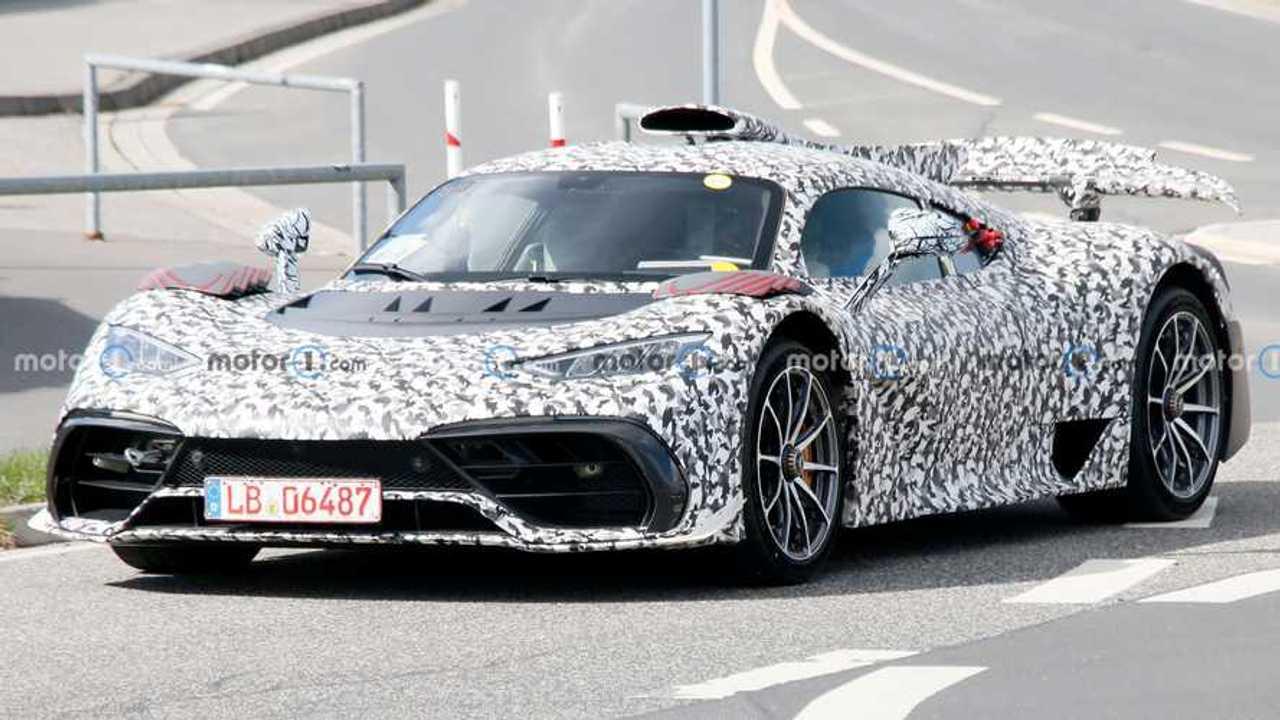 Mercedes-AMG One Casus Fotoğraflar Ön
