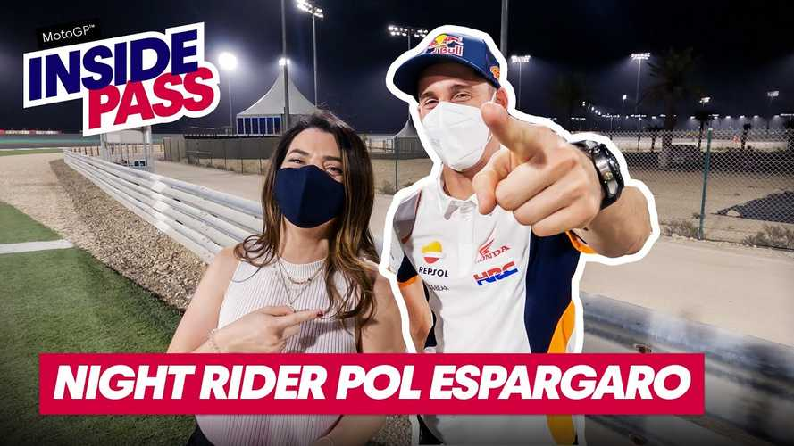 What Is It Like To Ride The Qatar MotoGP Circuit At Night?