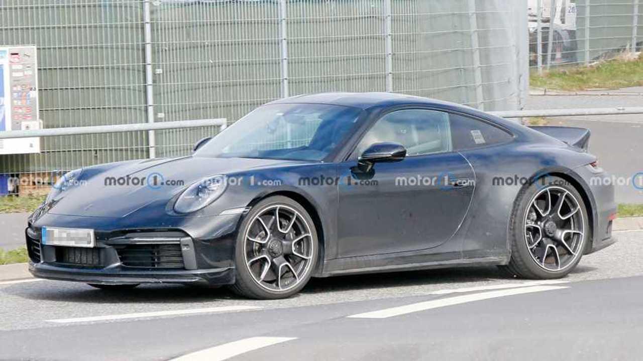 Porsche 911 Sport Classic spy photos.
