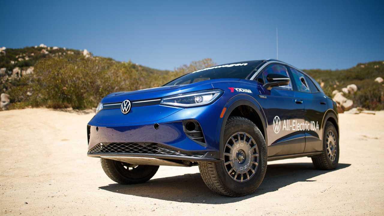 Volkswagen ID.4 для  NORRA Mexican 1000