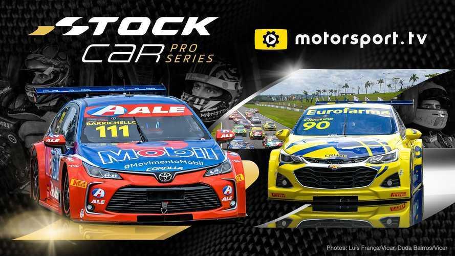 Le Stock Car brésilien en direct sur Motorsport.tv