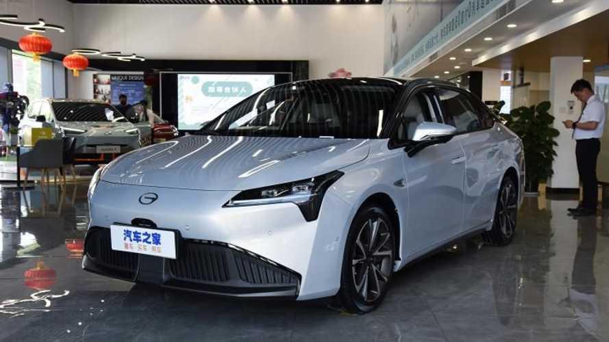 GAC выпустит на рынок новый электрический седан уже сегодня