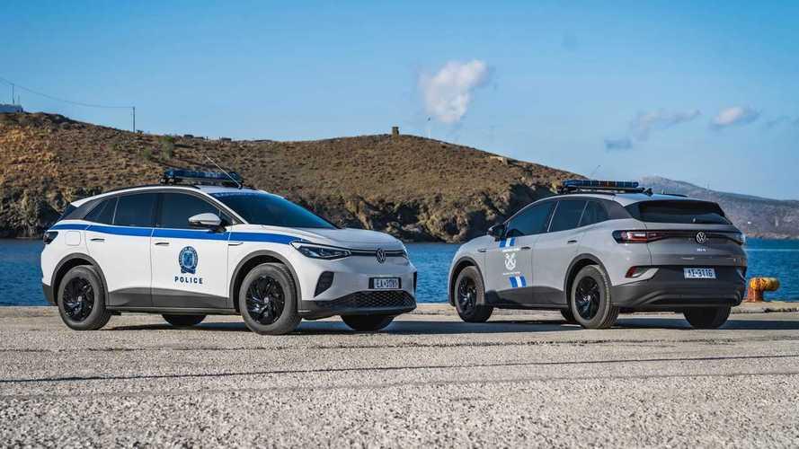 Volkswagen EVs At Greek Island Astypalea