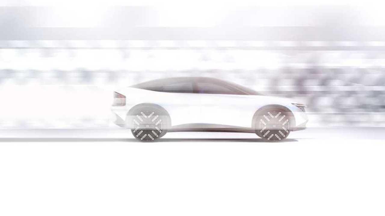 Nissan Elektrikli Crossover Teaser