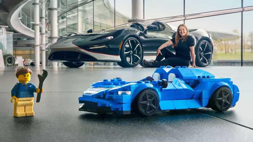 McLaren Elva, l'esclusiva roadster diventa di Lego