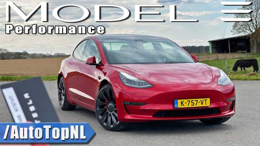 Tesla Model 3 Performance Review & Top Speed Put To The Test