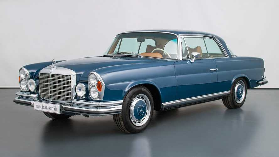Questa Mercedes classica ha un V8 da 360 CV e costa una fortuna