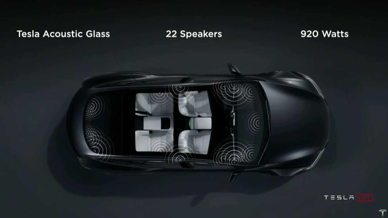 Tesla Model S Plaid audio