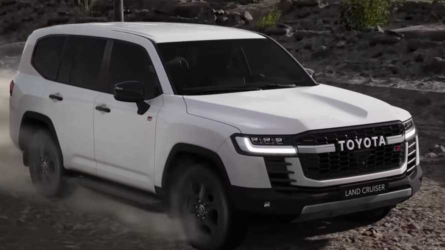 2022 Toyota Land Cruiser GR Sport Shows Off Its New Off-Road Tech