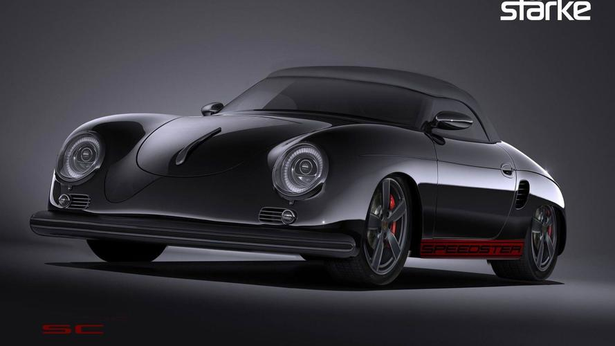 Stärke Revolution Speedster Turns Boxster Into Modern 356 Speedster