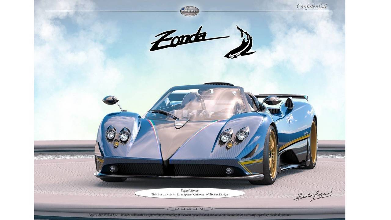 New Pagani Zonda for TopCar