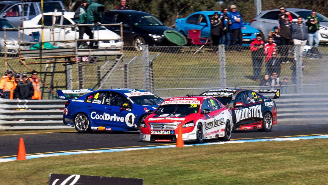 Hazelwood crash Supercars 3