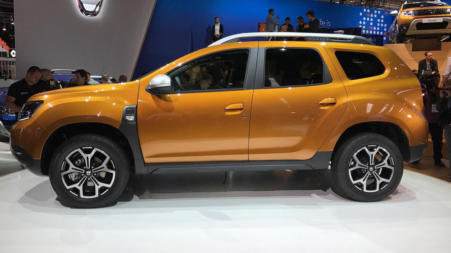 2018 - Dacia Duster au Salon de Francfort