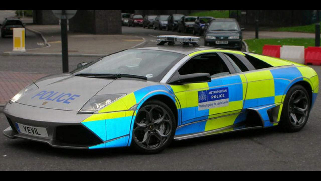 Lamborgini LP640 per la Police UK