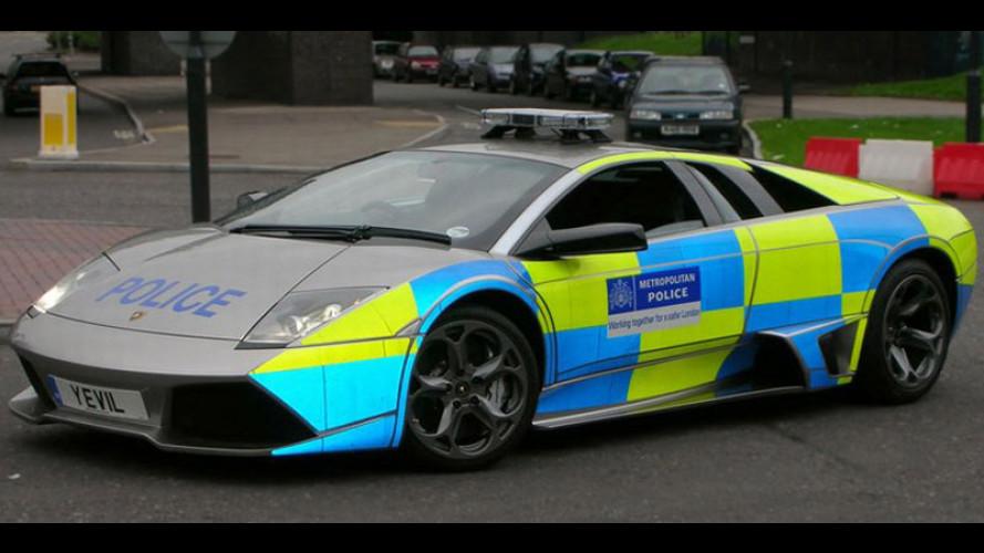 Una Lambo per la Police britannica...