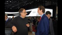 Sergio Marchionne, Lapo e John Elkann al Salone di Ginevra