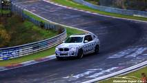 2019 BMW X3 M screenshot from spy video