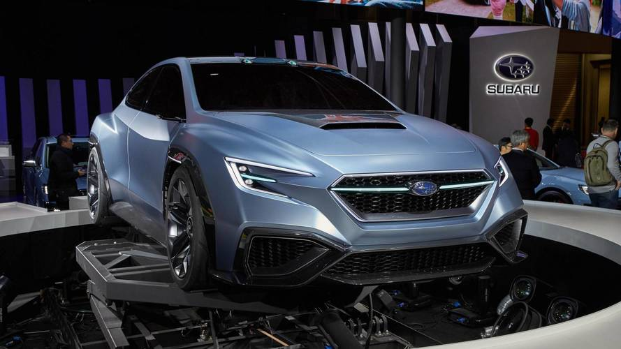 Subaru Exec Hints Next WRX STI Will Be A Hybrid