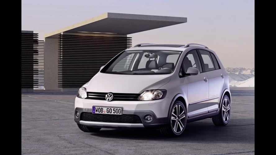 Nuova Volkswagen CrossGolf