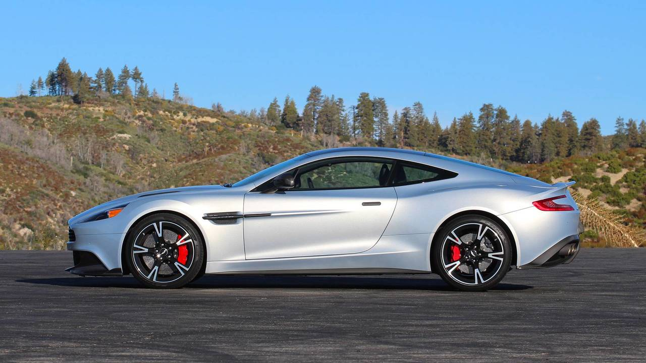 Aston Martin Vanquish S Coupe Review Going Out With A Bang - Aston martin coupe