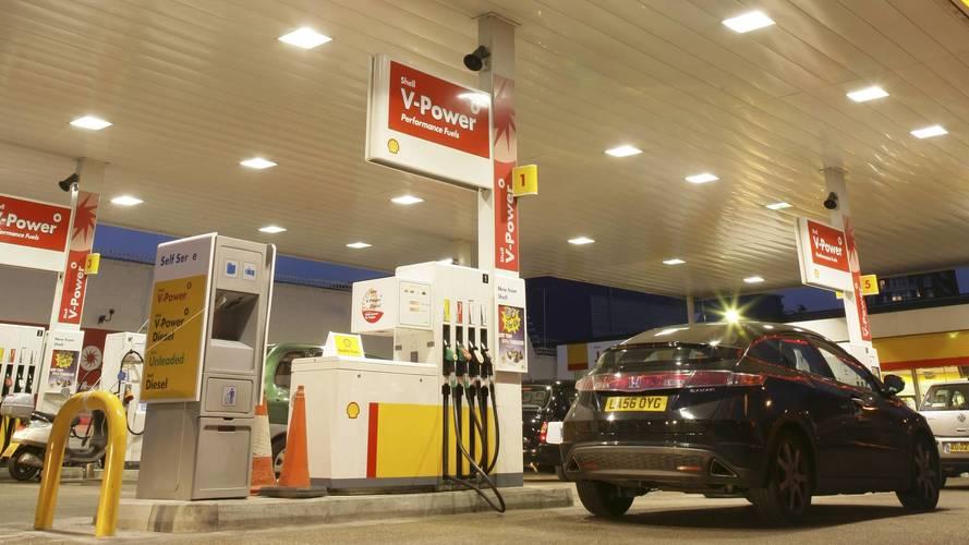 350-en már biztosan rossz üzemanyagot tankoltak a Shell kútjánál