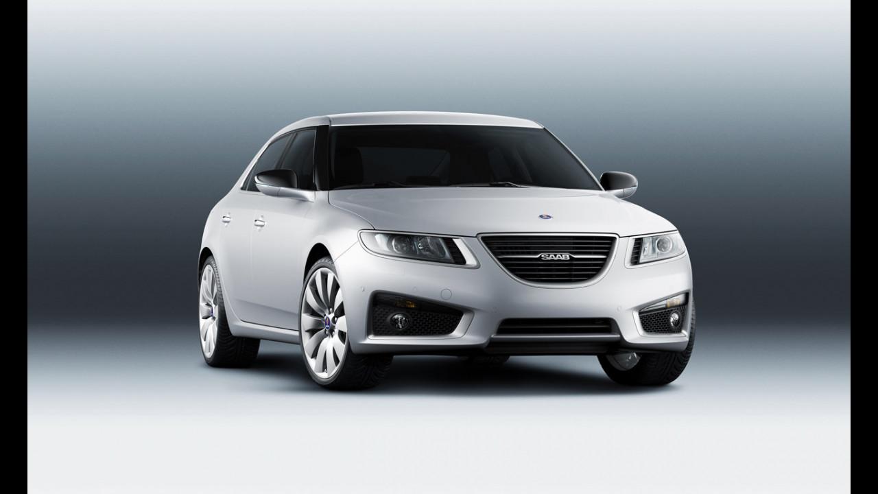 Nuova Saab 9-5. Foto ufficiali
