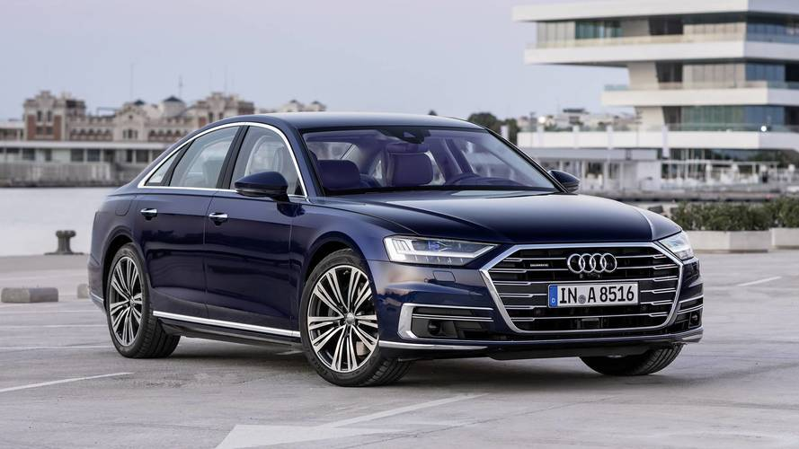 Take A Good Look At The Audi A8's Tech-Heavy Digital Interior