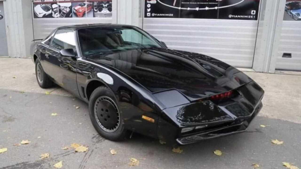 Kitt, l'auto del telefilm Supercar è in vendita all'asta