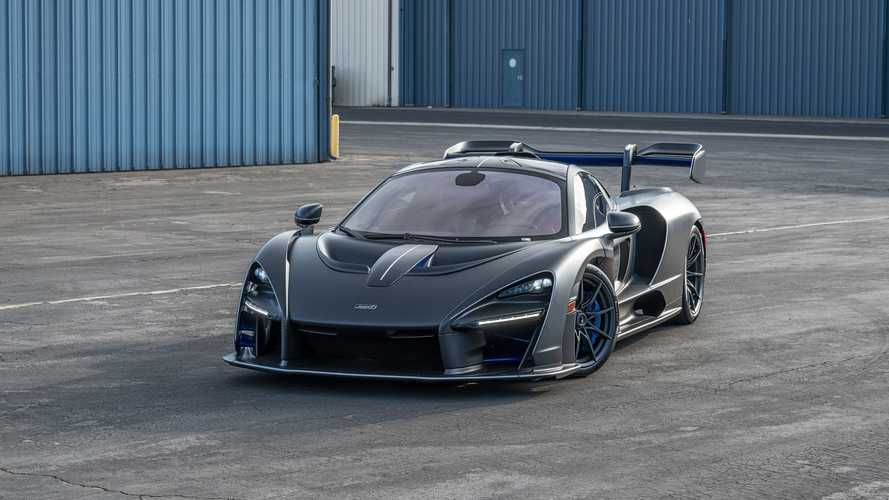 McLaren Senna with £260,000 just in options could be yours