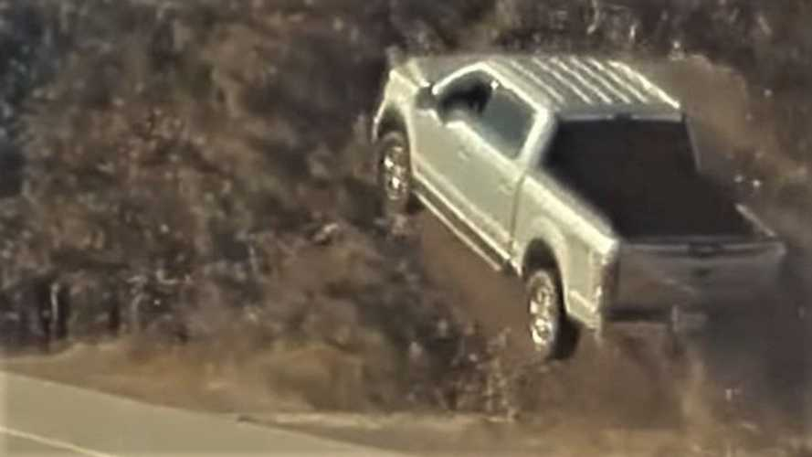 TeslaCam Catches Flying Pickup Truck, Possible Meteorite