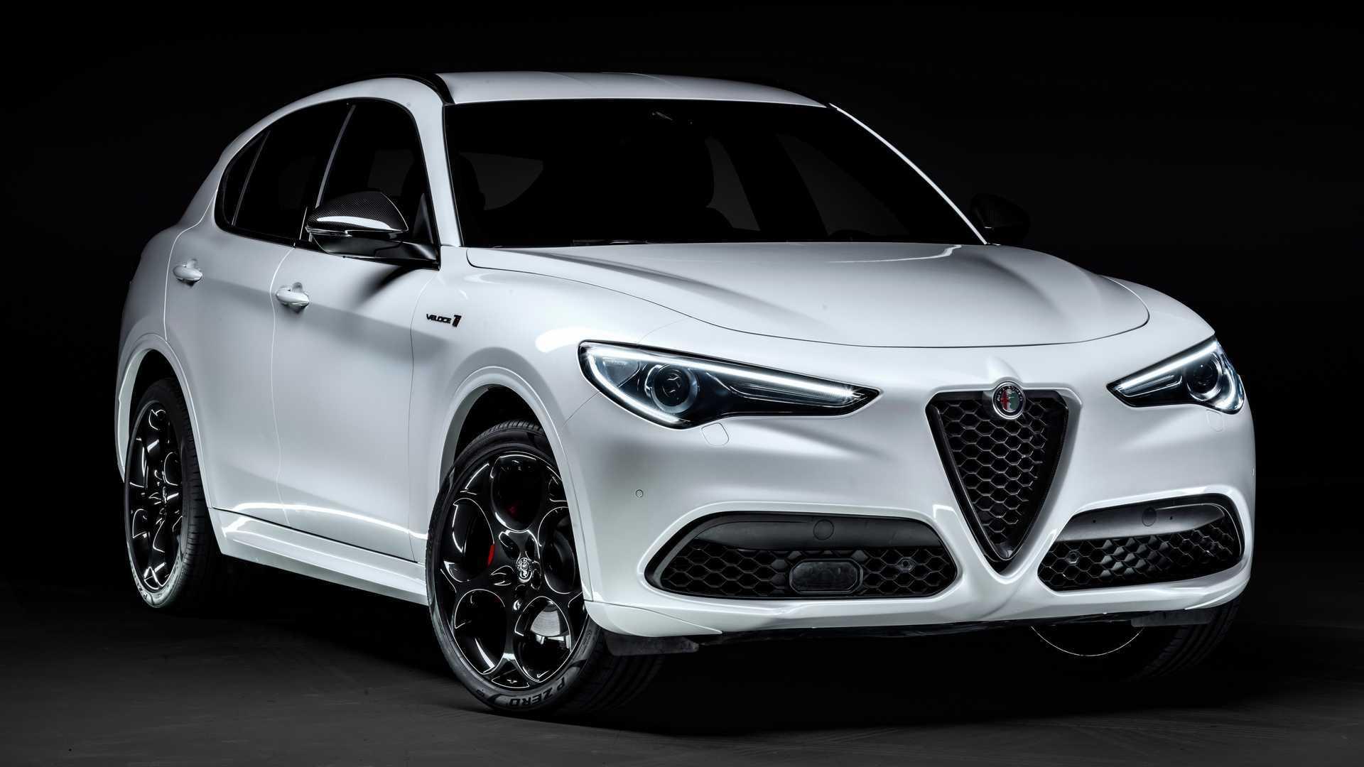 2021 Alfa Romeo Stelvio Veloce Ti Debuts With 280 Hp Perky Looks