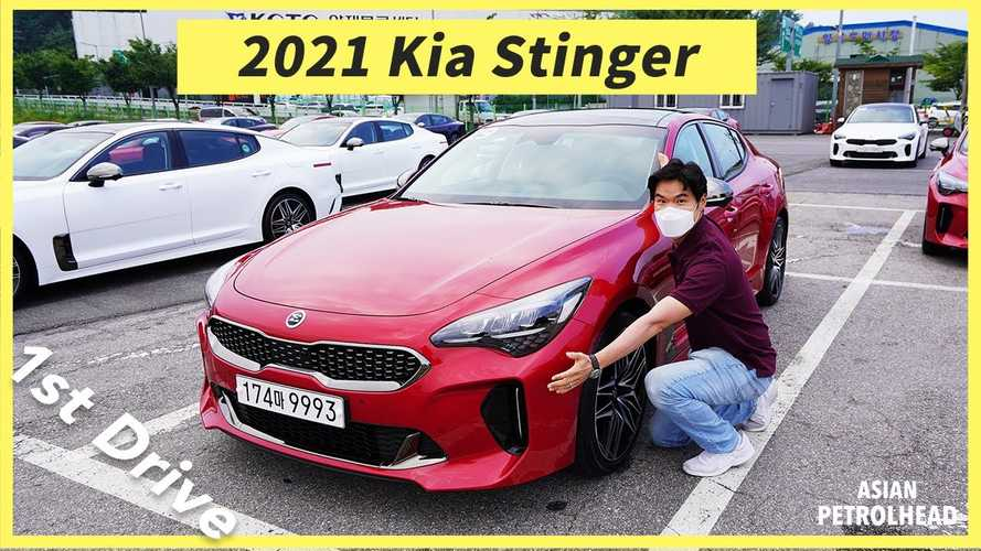 2021 Kia Stinger Extended Video Shows What's New Inside And Out