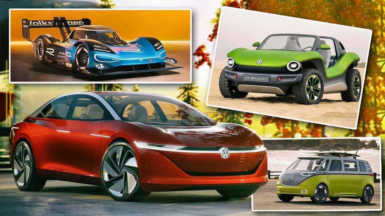 VWs ID-Studien und ID-Modelle