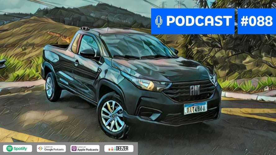 Motor1.com Podcast #88: Nova Fiat Strada liderou em setembro, qual seu segredo?