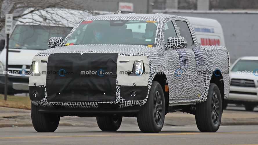 Next-Gen Ford Ranger Spied For First Time, Shows F-150 Styling Cues