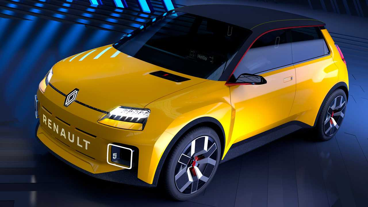 Renault 5 Prototype, вид спереди
