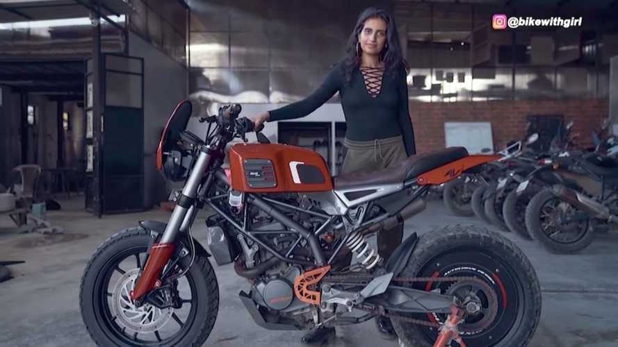 Check Out This KTM 200 Duke Modified With 3D Printed Parts